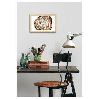 agate framed art